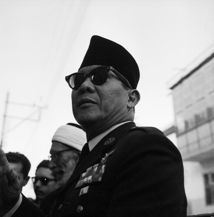 Sukarno, former Indonesian president
