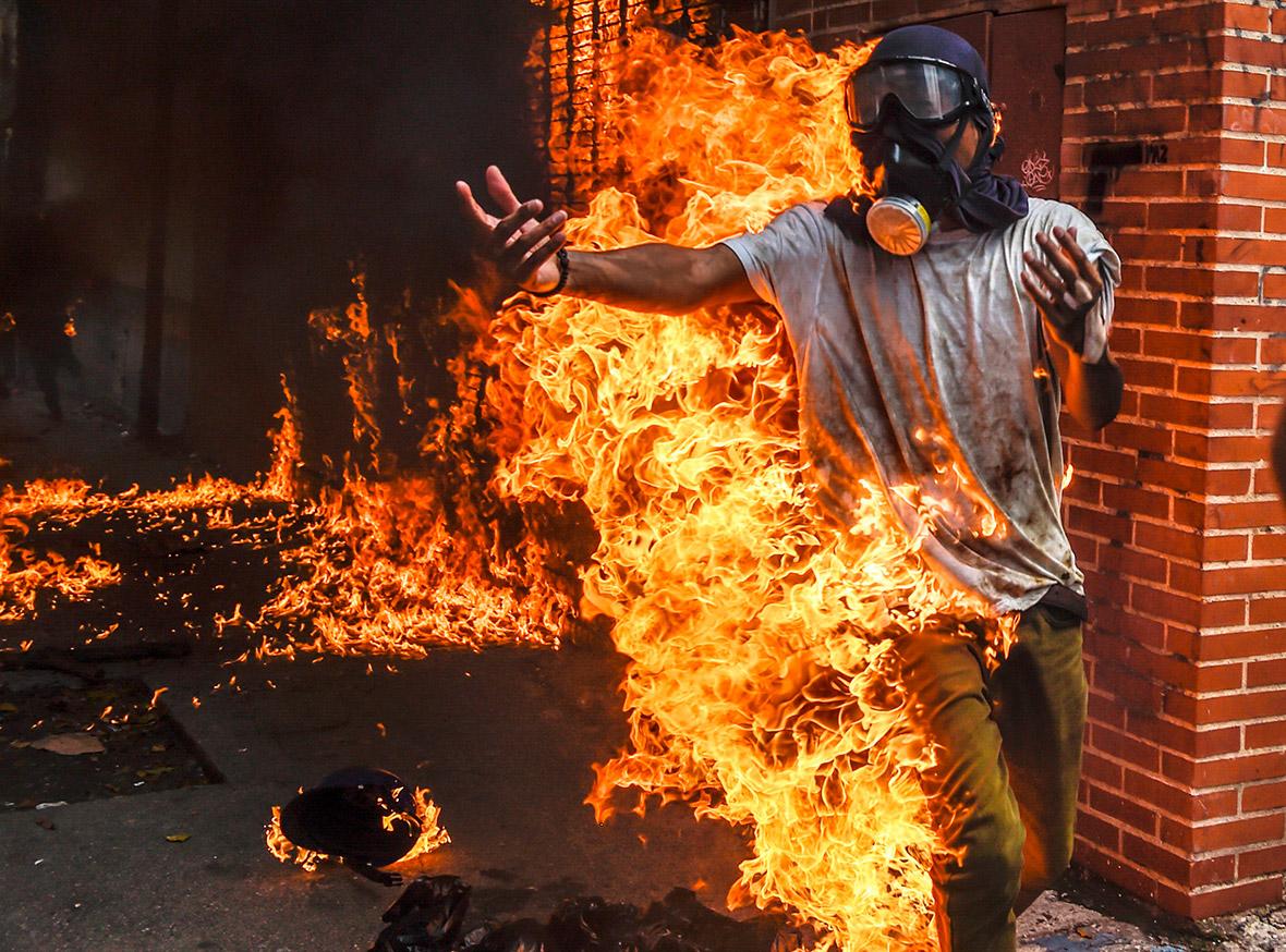 Venezuela protests anti-Maduro Caracas