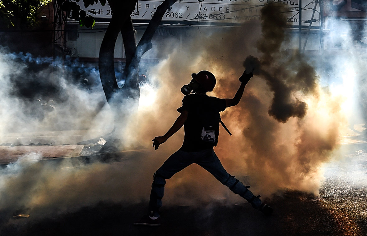 Venezuela protests anti-Maduro Caracas