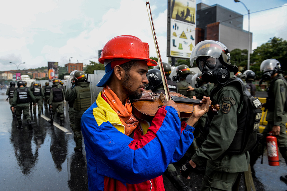 Venezuela Caracas protests Maduro