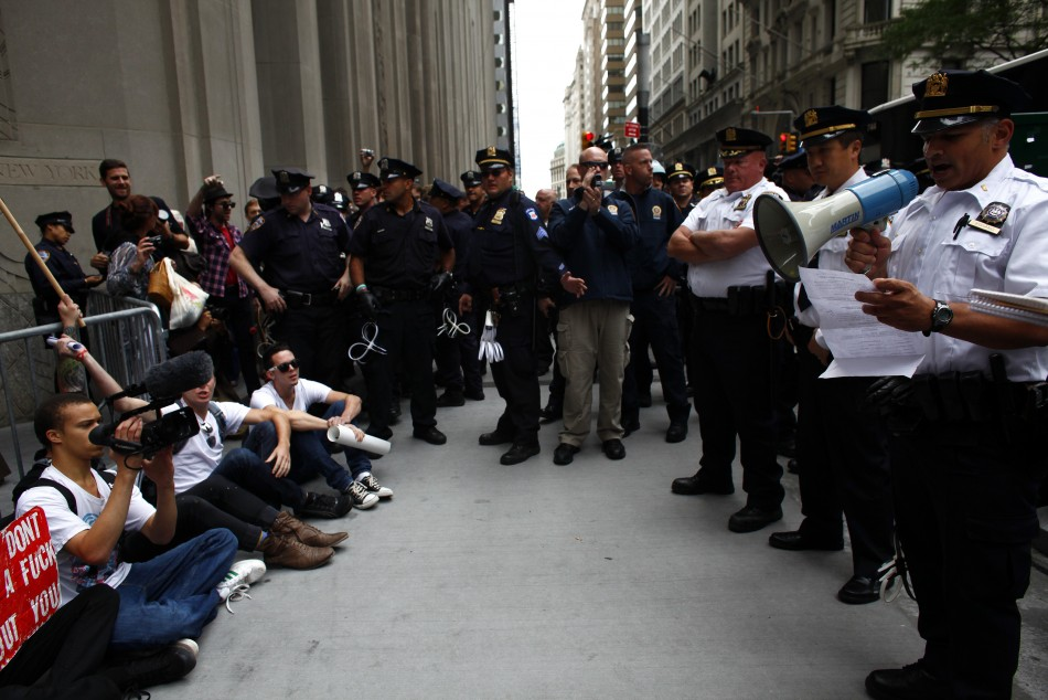 Anonymous Call for Mainstream Media Attention to Fight Occupy Wall Street Police Violence