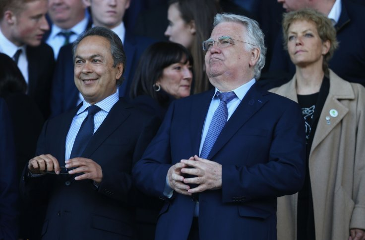 Bill Kenwright and Farhad Moshiri