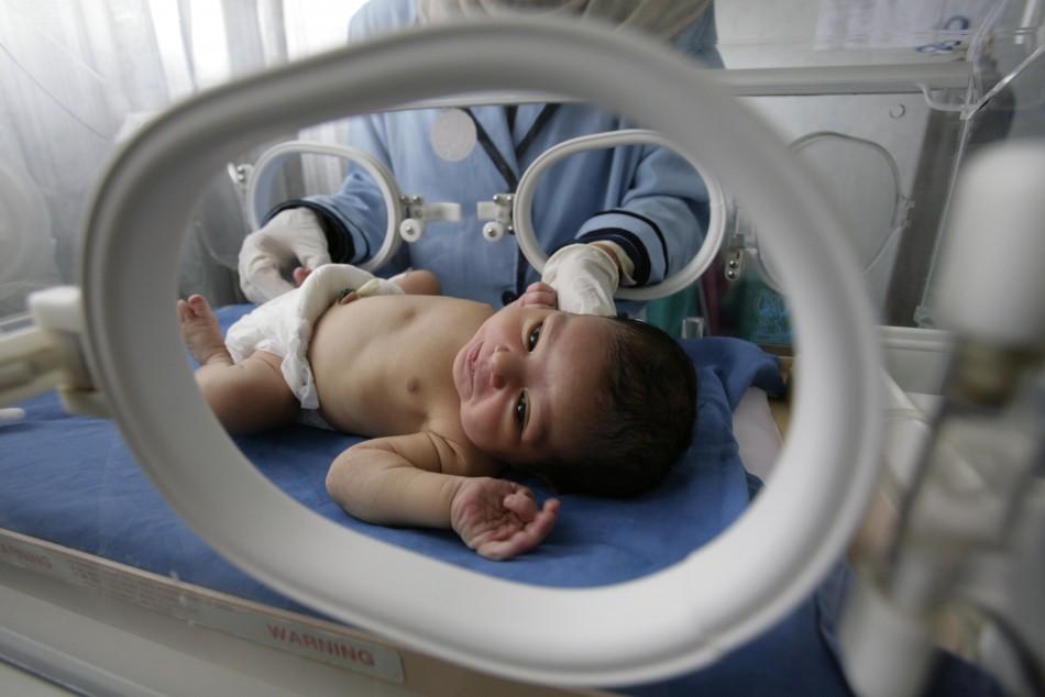 A preterm baby