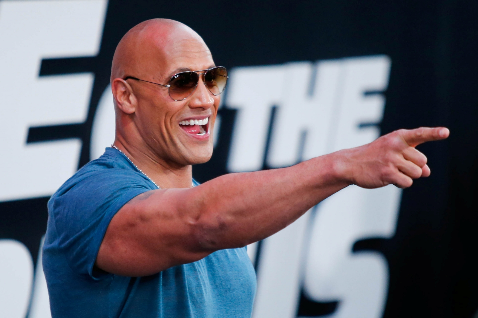 The Rock for president? Possibly
