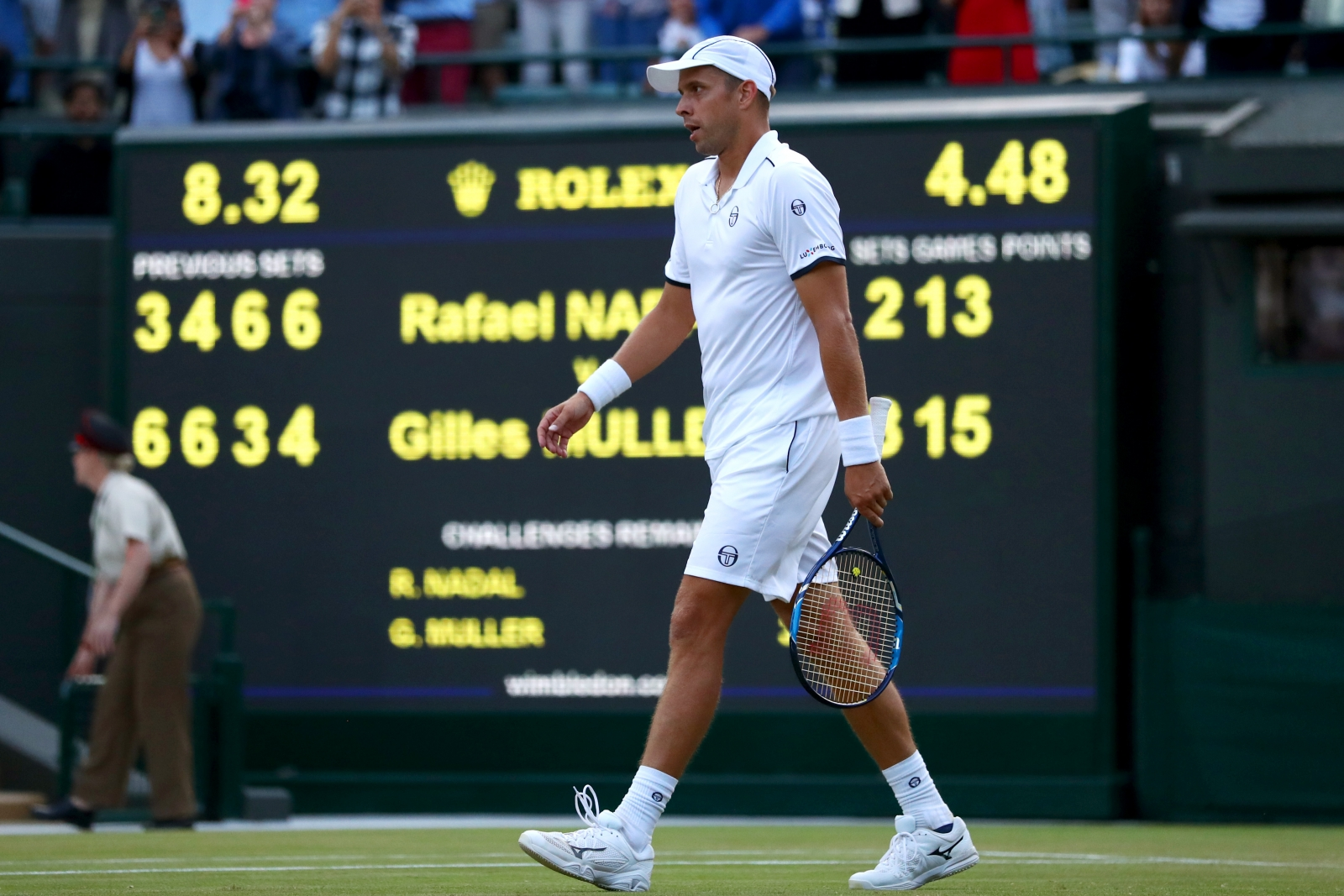 Rafael Nadal vs Gilles Muller: Wimbledon fourth round preview and prediction