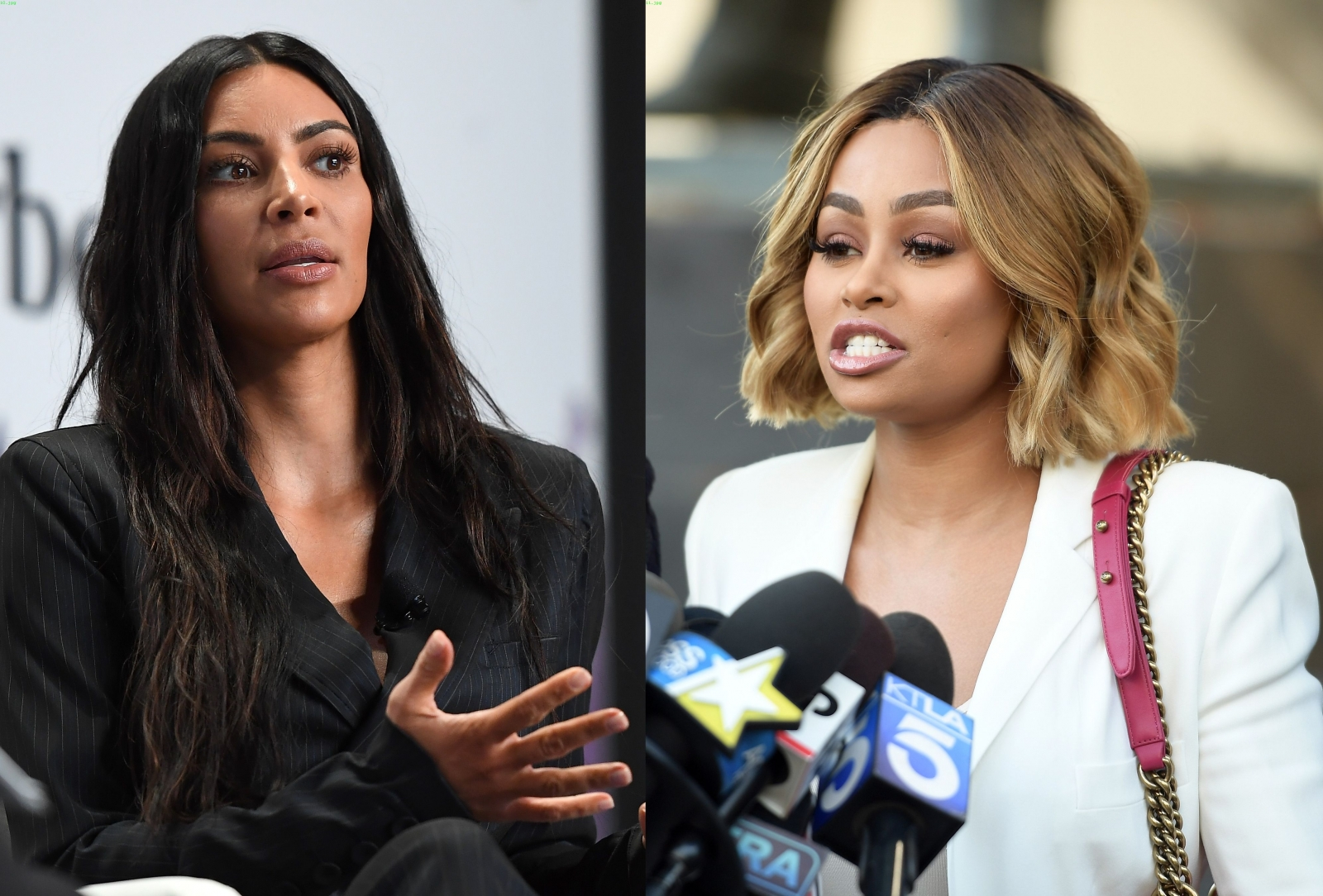 Kim Kardashian and Blac Chyna