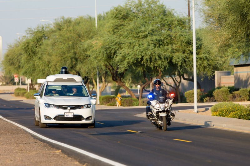 Waymo driverless car