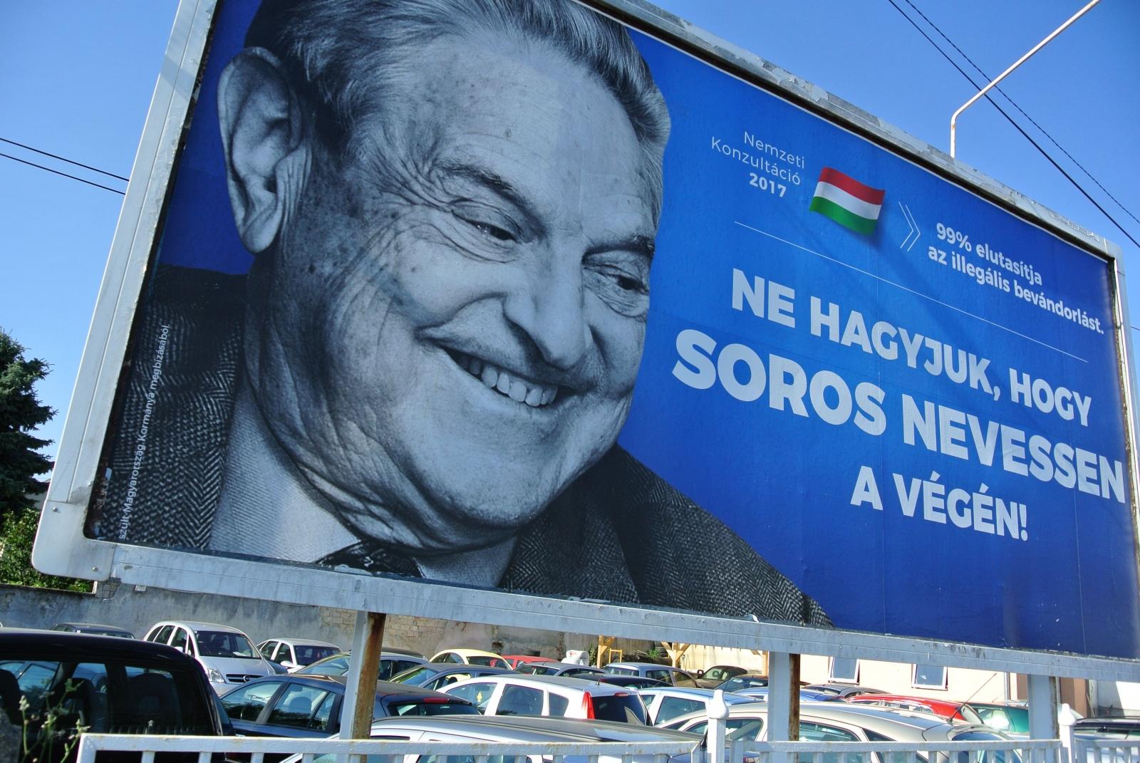George Soros poster