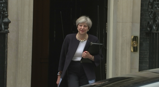 theresa-may-departs-number-10-for-gig-economy-speech