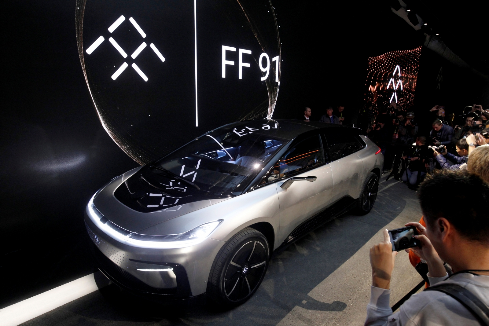 Faraday Future FF91 electric car