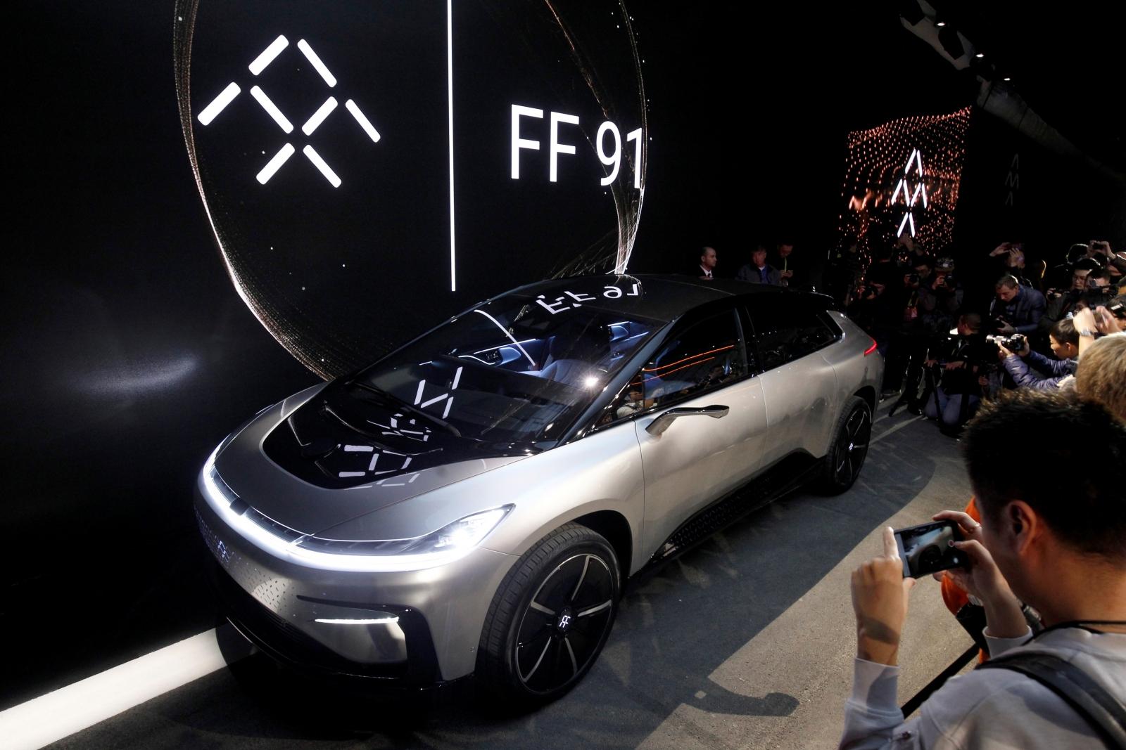 Faraday Future FF91 electric car