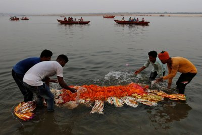Ganges pollution India