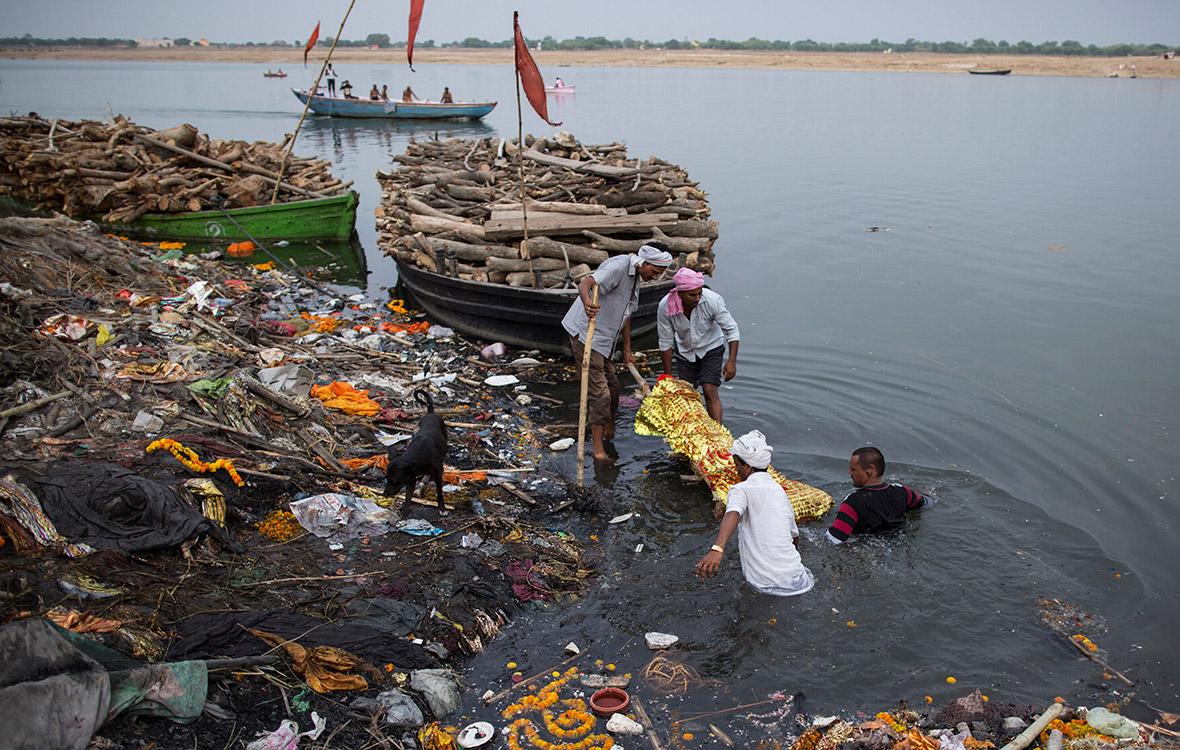 Ganges pollution