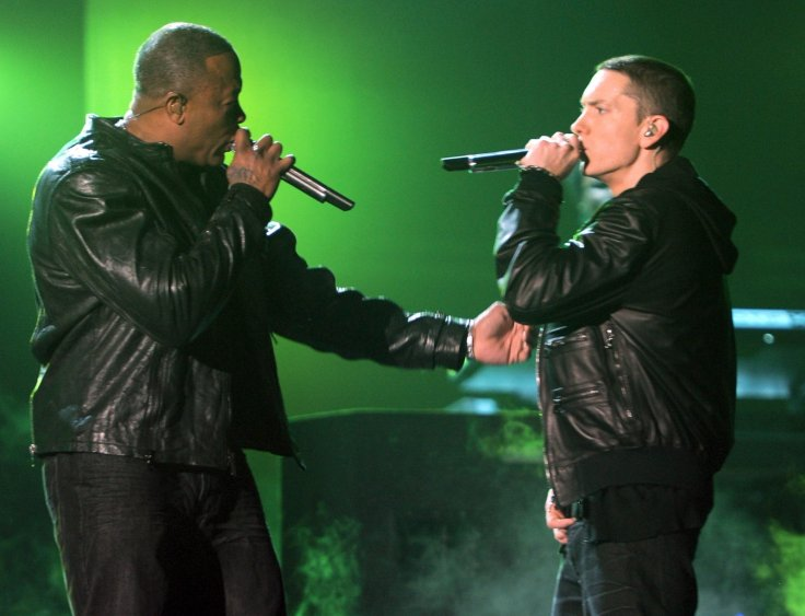 Eminem and Dr Dre