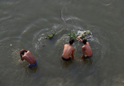 Ganges pollution