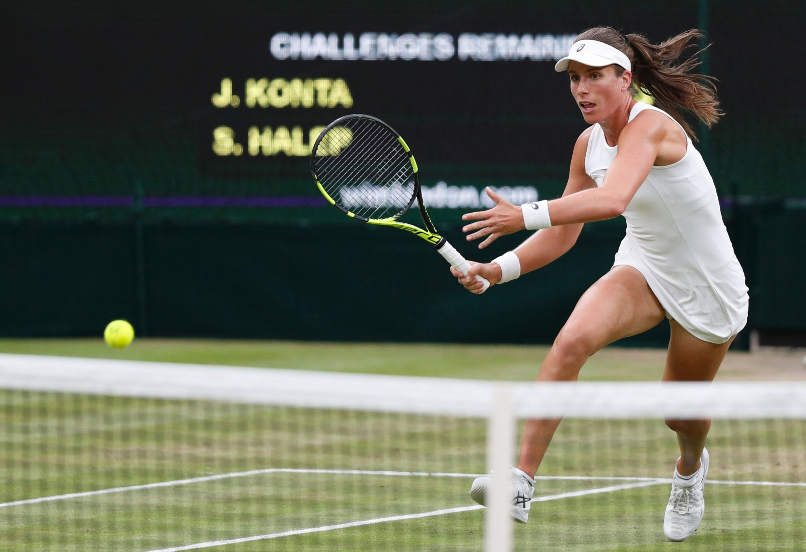 Wimbledon dream continues for nerveless Johanna Konta