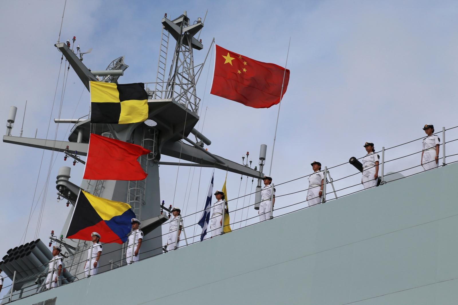 Chine military base in Djibouti
