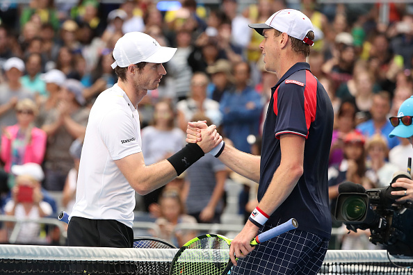 Andy Murray and Sam Querrey