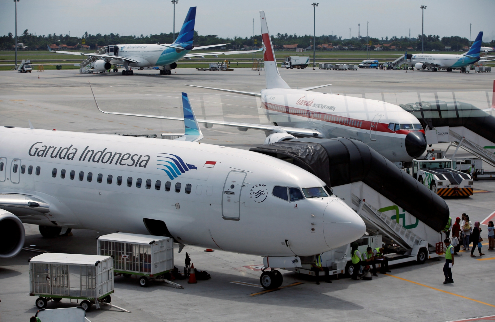 garuda indonesia airlines I always love garuda indonesia while traveling within indonesia it's well scheduled and mostly on-time, if it's not on-time it's not because of the airline but technical issues with the airport love the food and the service is super.