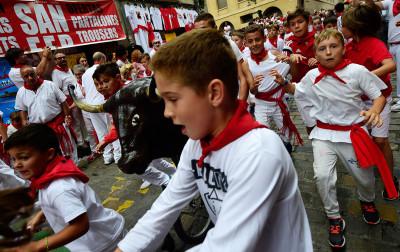 Pamplona San Fermin festival 2017
