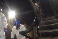 Video Shows Fire Devastation Inside Grenfell Tower Stairwells