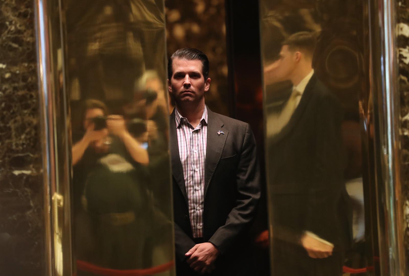 trump pictures jr