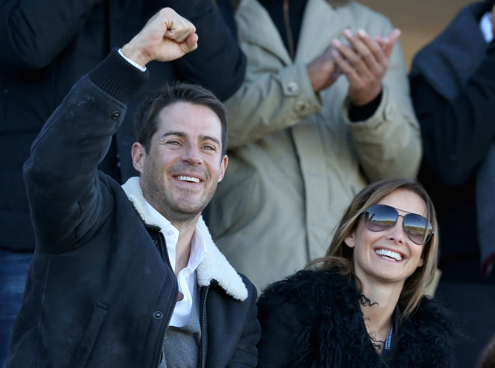 Jamie Redknapp and Louise Redknapp