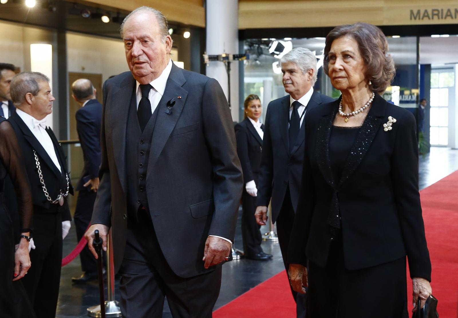 Juan Carlos and Sophia
