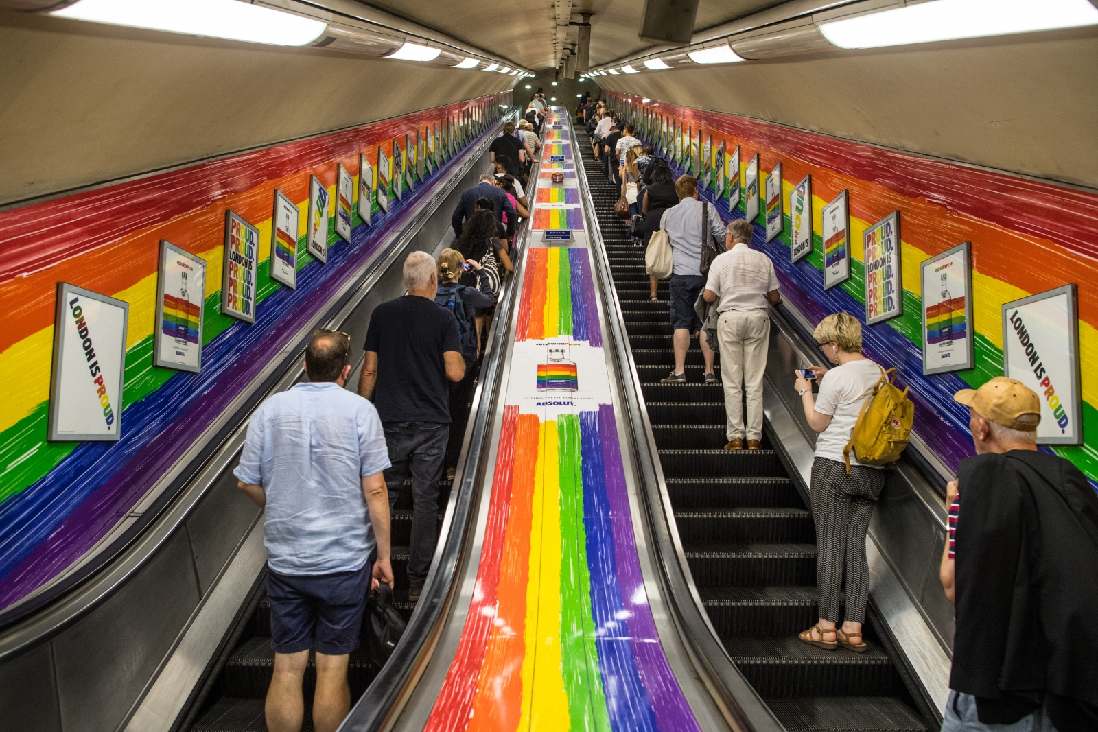 London's transport system is going gender neutral