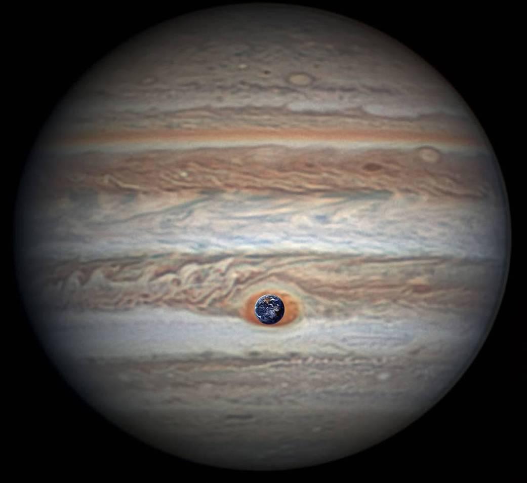 Nasa Juno Jupiter flyby