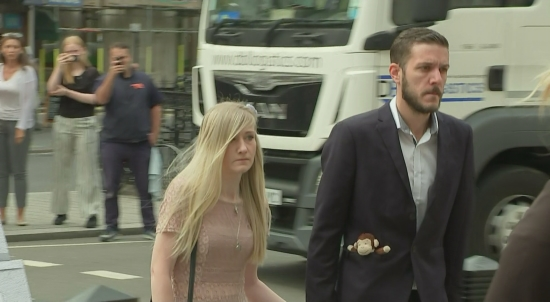 Charlie Gard's Parents Arrive at High Court