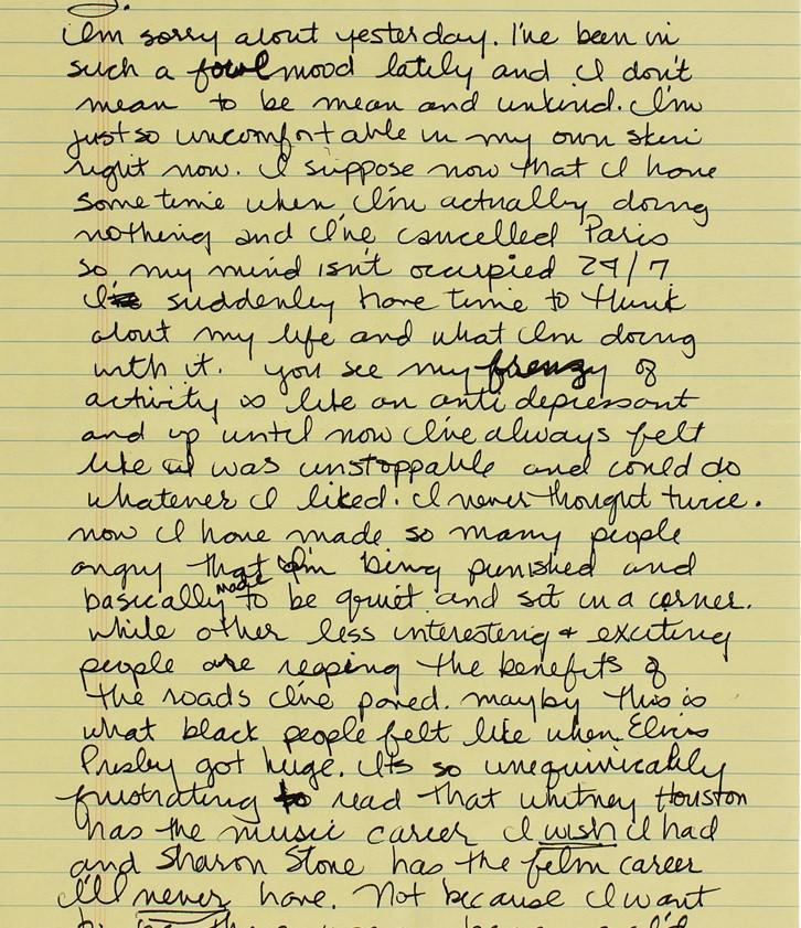Madonna letter