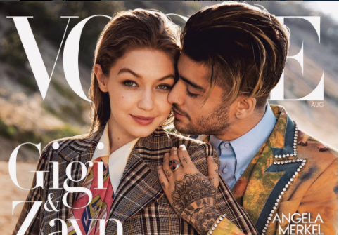Vogue apologized for calling Gigi Hadid and Zayn Malik