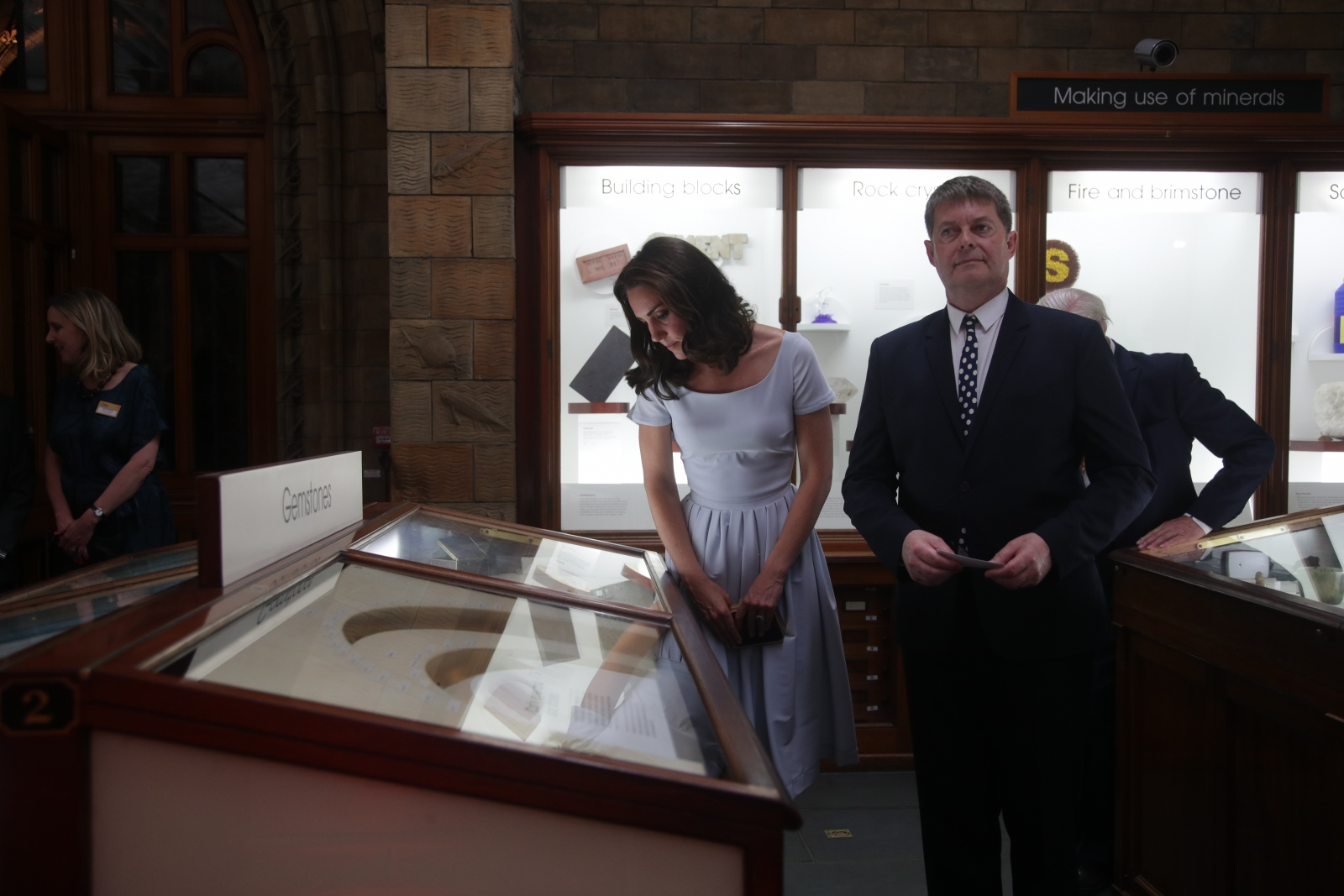 Kate Middleton at Natural History Museum