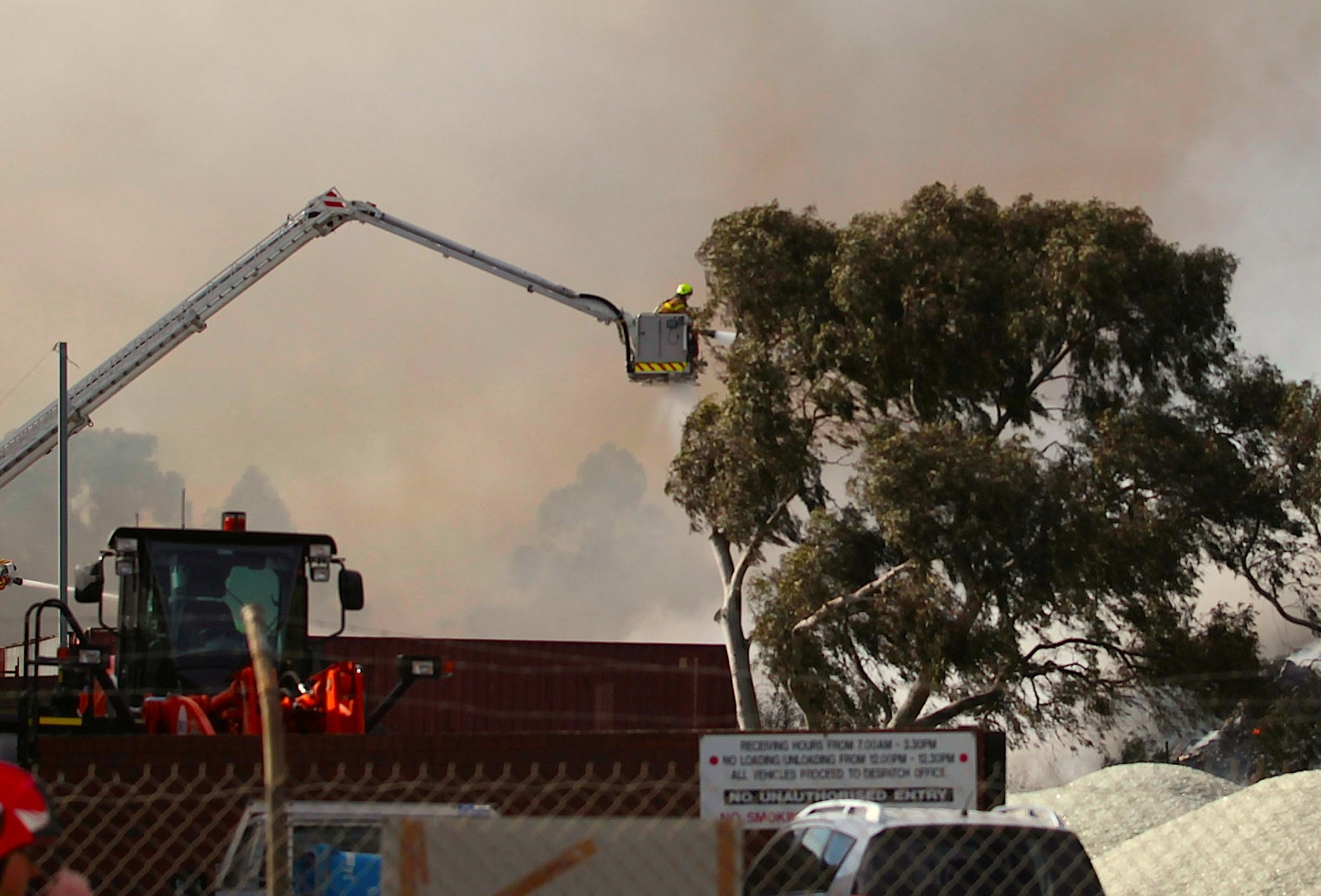 Two Hospitalised As Melbourne Recycling Plant Burns For Second Day
