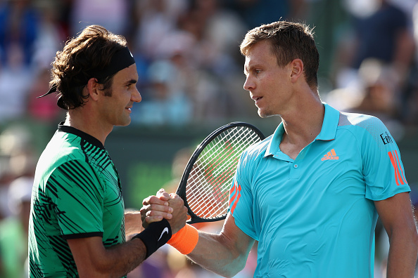 PICTURES: Thomas Berdych pays tribute to injured Novak Djokovic…with his shoes