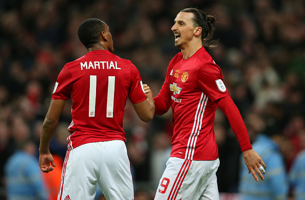 Manchester United's Anthony Martial can benefit from departure of 'intimidating' Zlatan Ibrahimovic