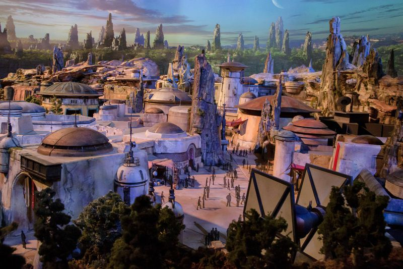 First Model of Disney's 'Star Wars Land' Revealed