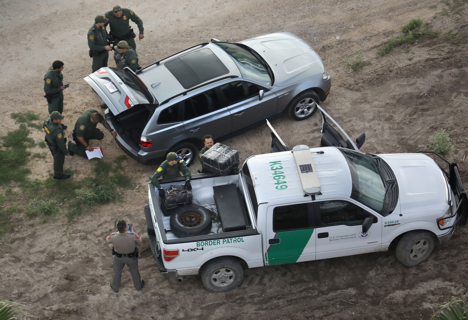 US border patrol device search