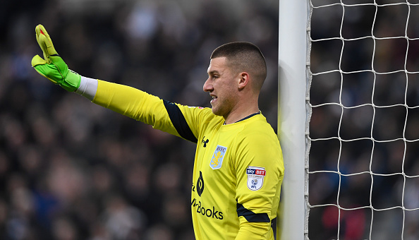 Aston Villa confirm return of Manchester United's Sam Johnstone