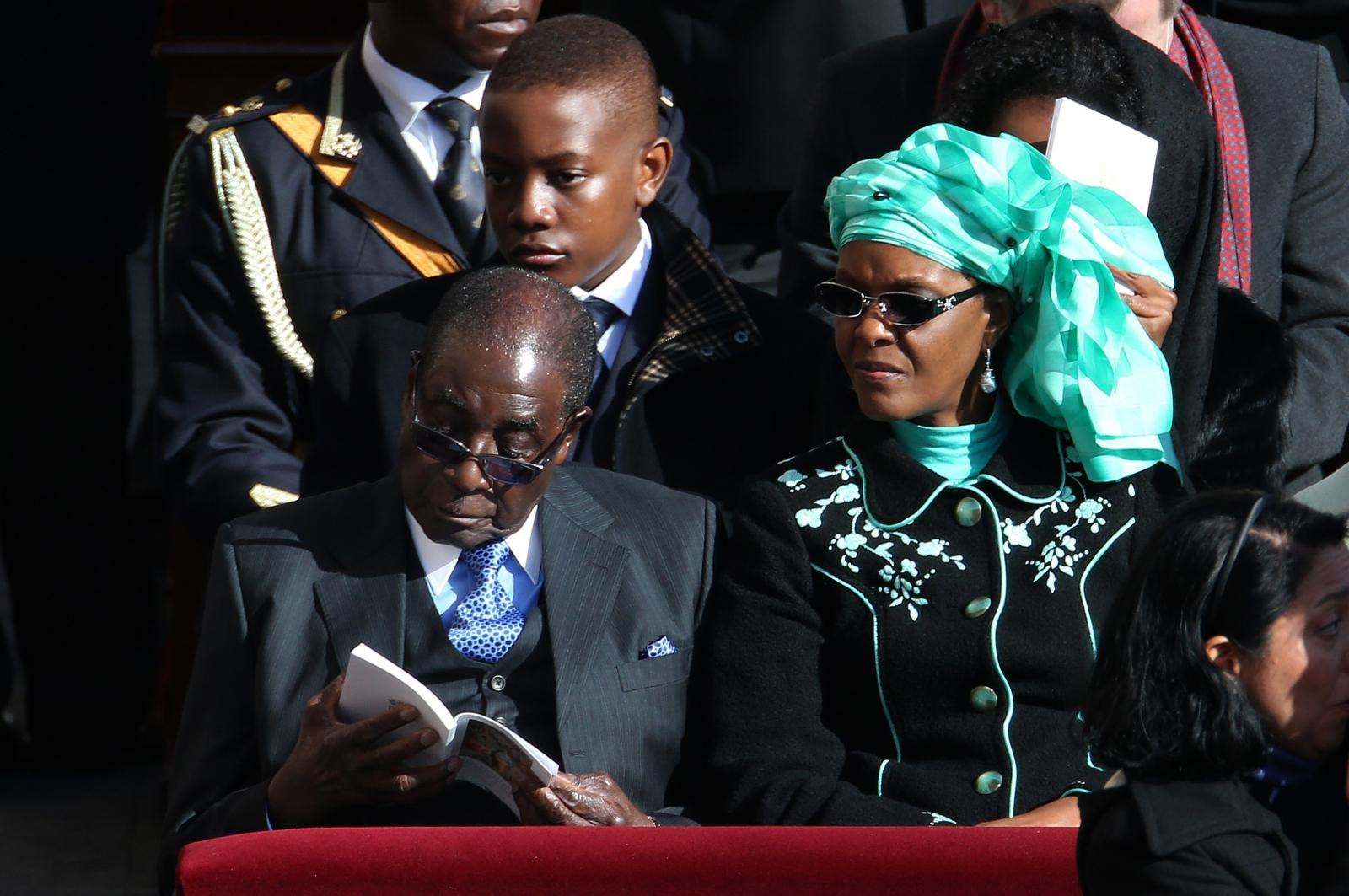 Robert and Grace Mugabe