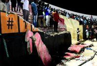 Senegal stadium wall collapse