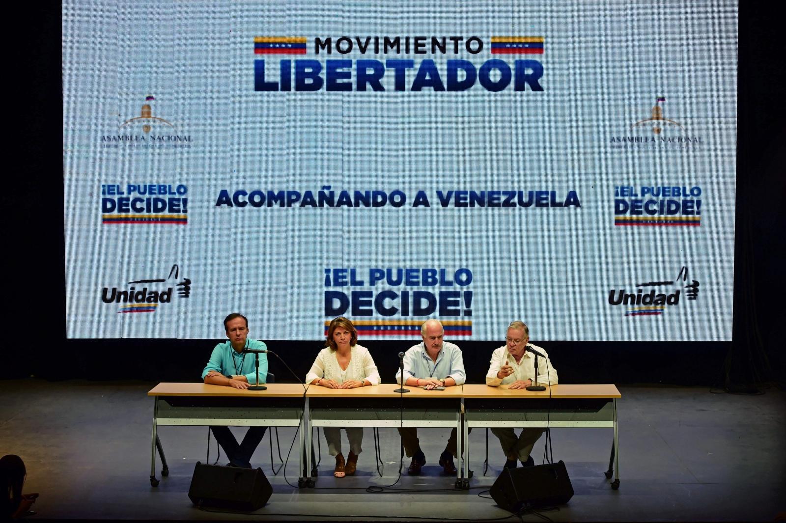 Venezuela opposition-organised vote