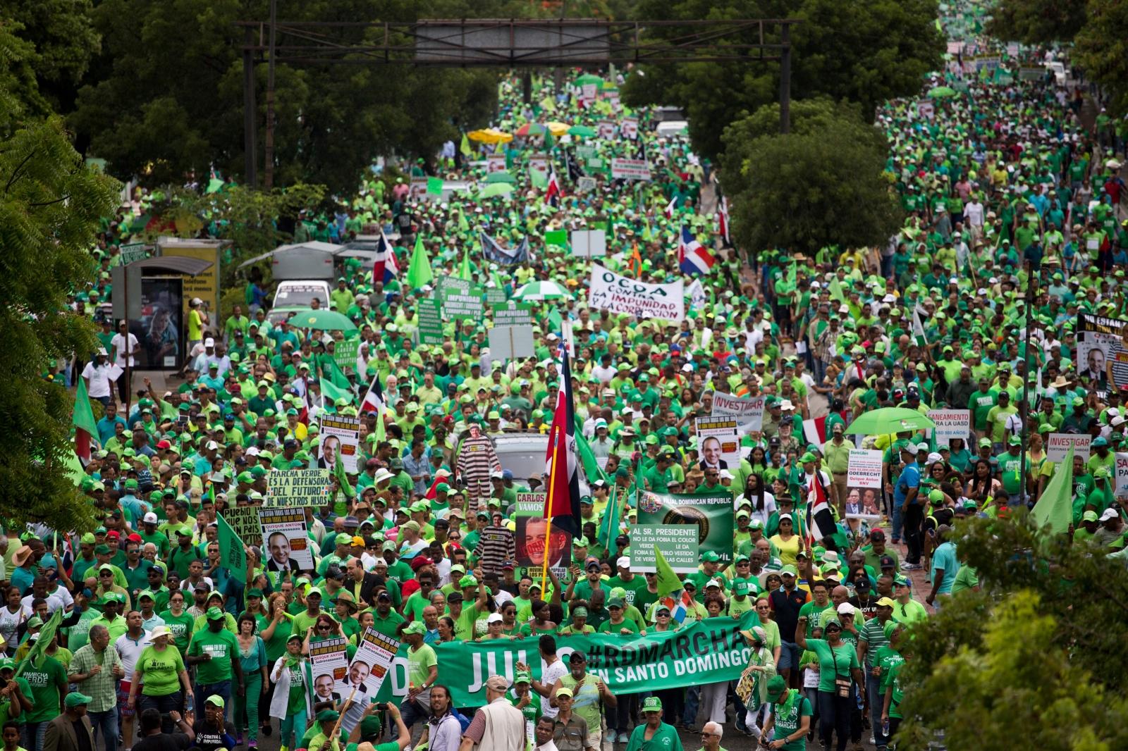 Domincan Republic protests