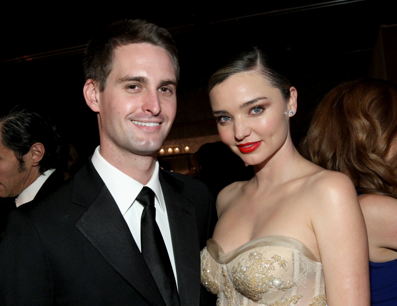 Miranda Kerr and Evan Spigel