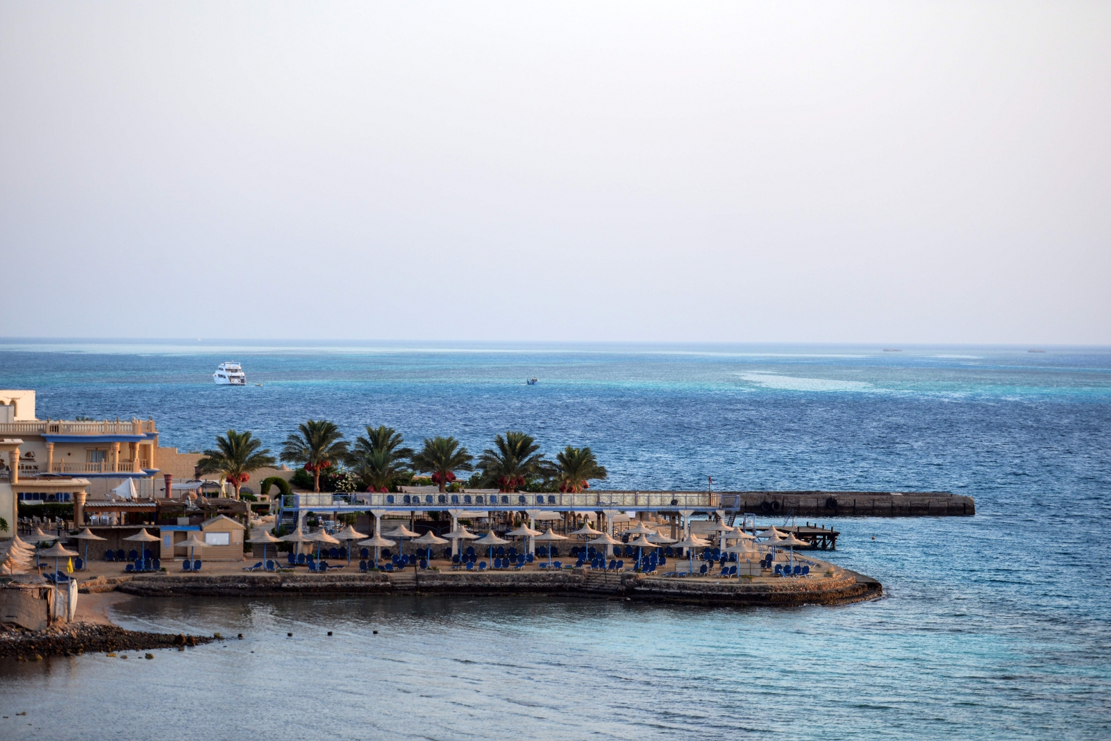 Egyptian hotel, Red Sea resort
