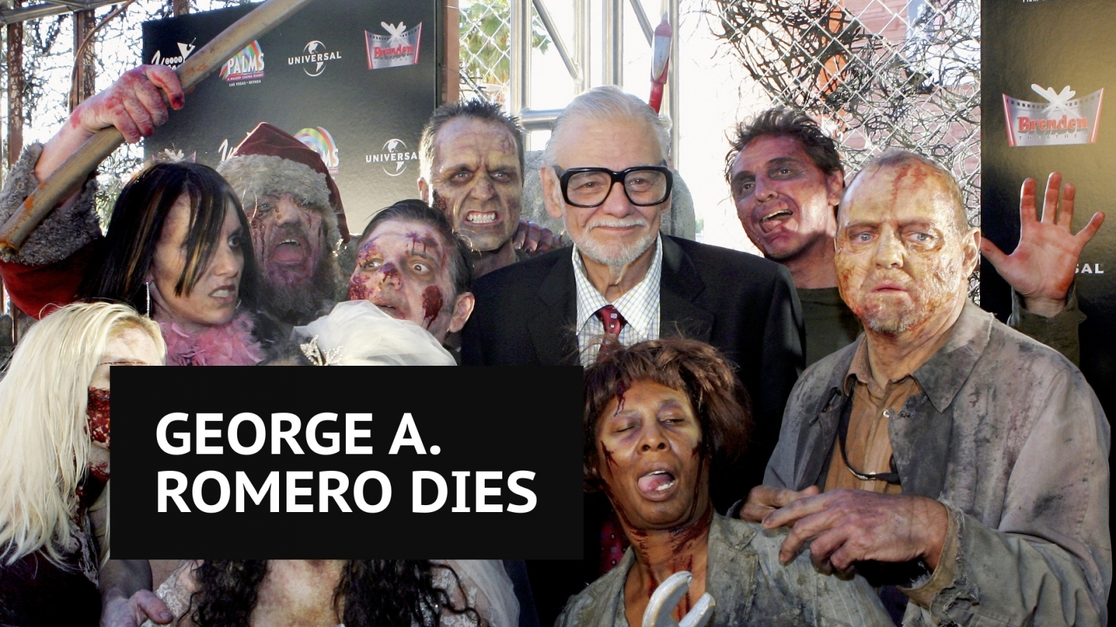 Legendary horror director George A. Romero dies