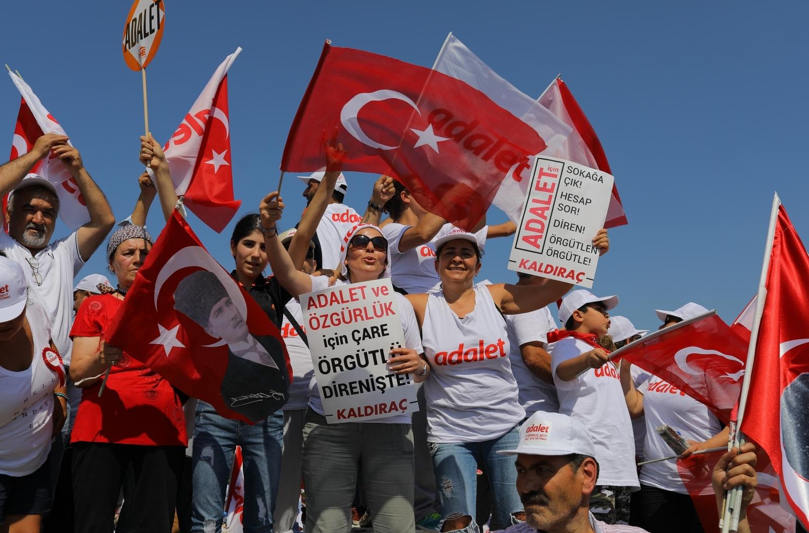 Turkey coup rally