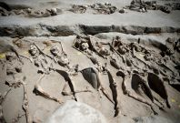Ancient Greece mass grave
