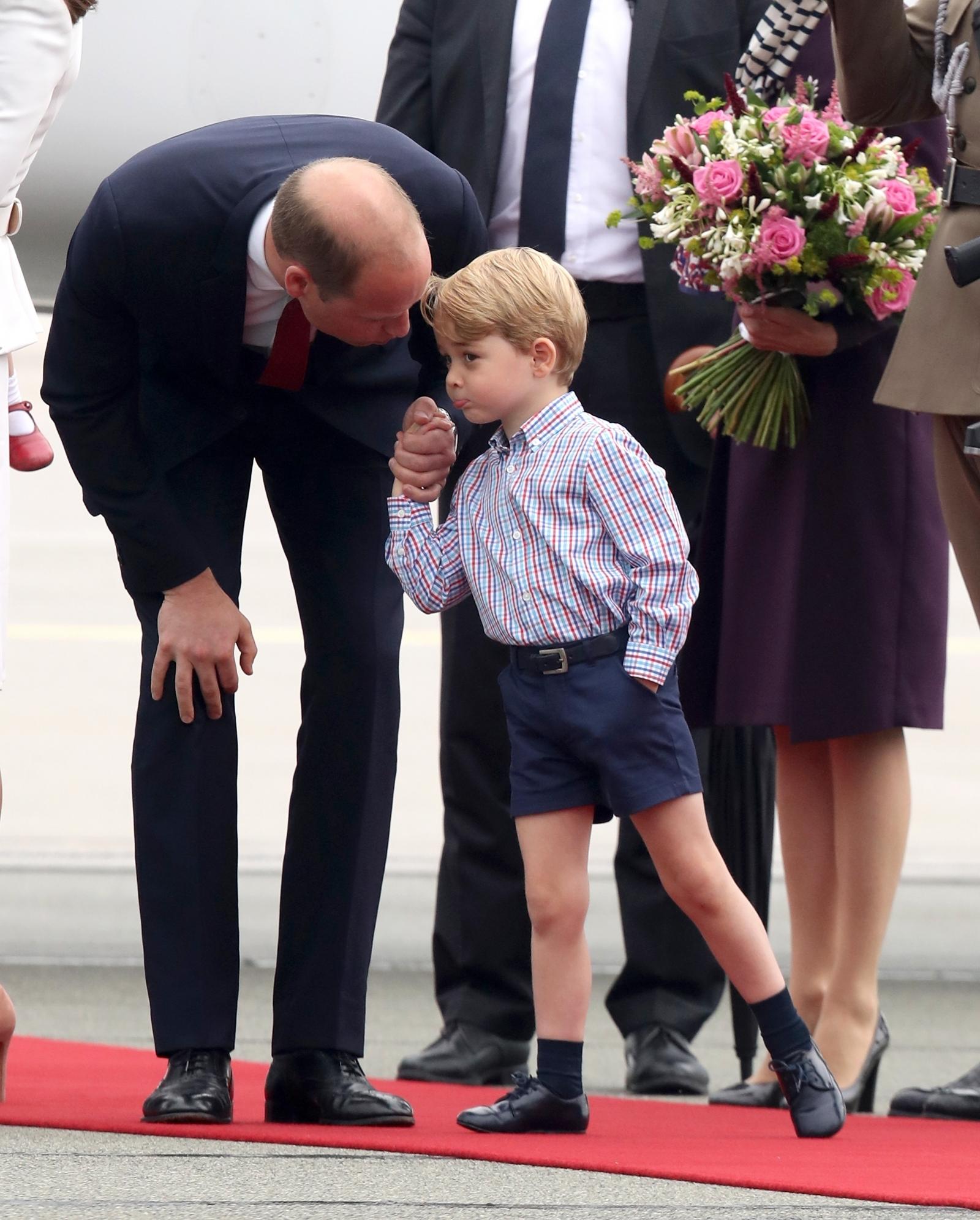 Prince William wins hearts as he mimics Miranda Hart's ...